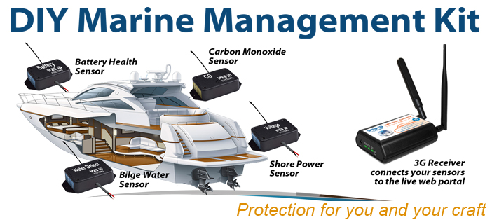 Marine Wireless Sensor Kit
